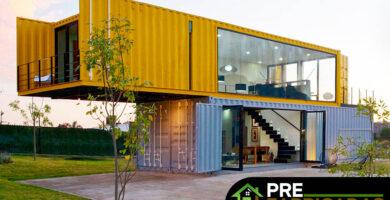 prefabricadas en containers