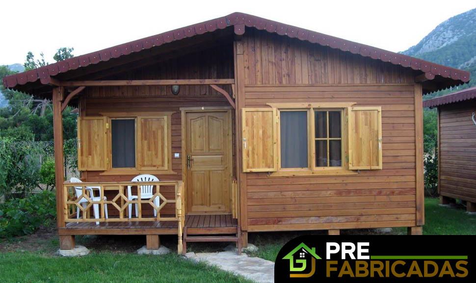 prefabricadas de madera