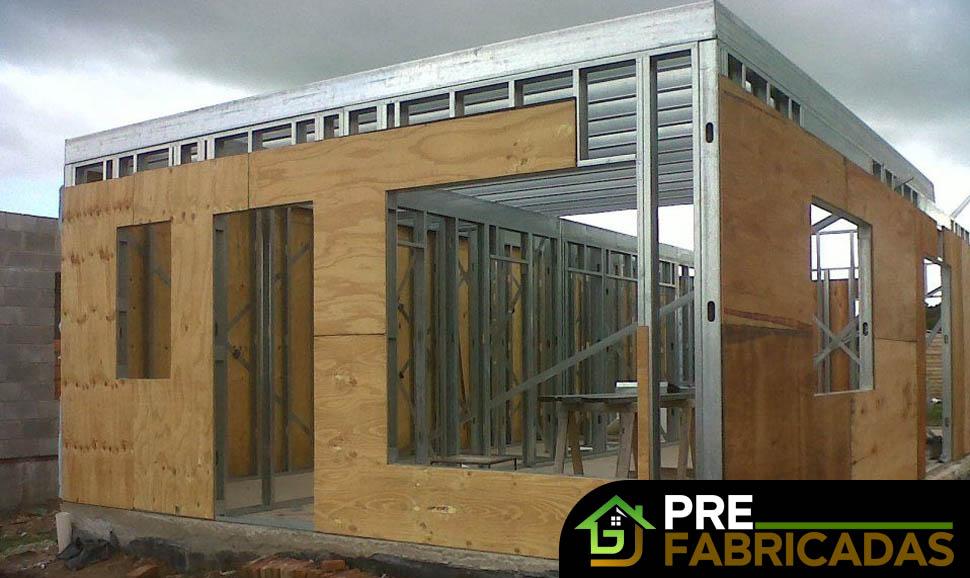 prefabricadas steel frame