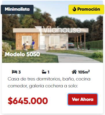 vilahouse 5050 promocion