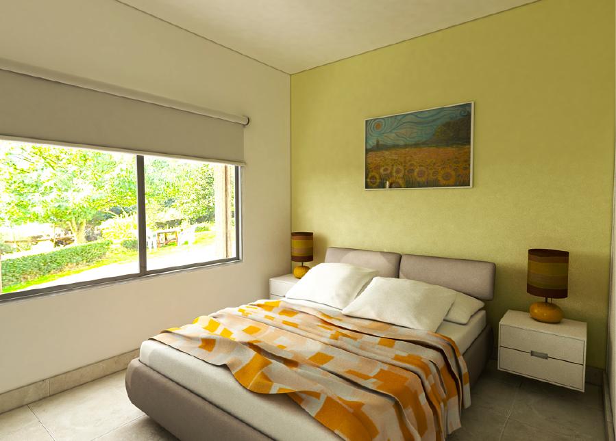 milenium plus maqueta 1 dormitorio