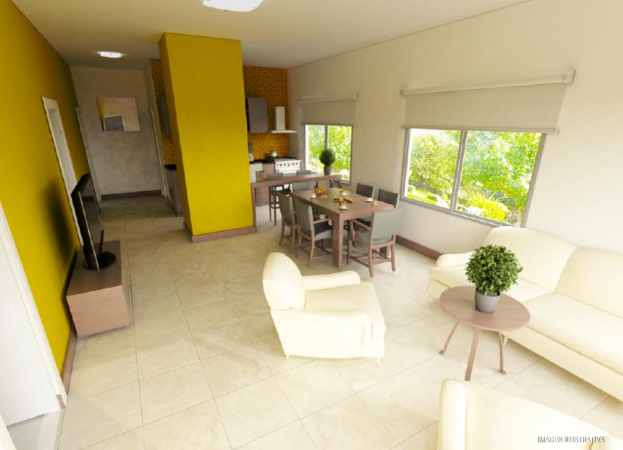 milenium plus 3 dormitorios diseño interior