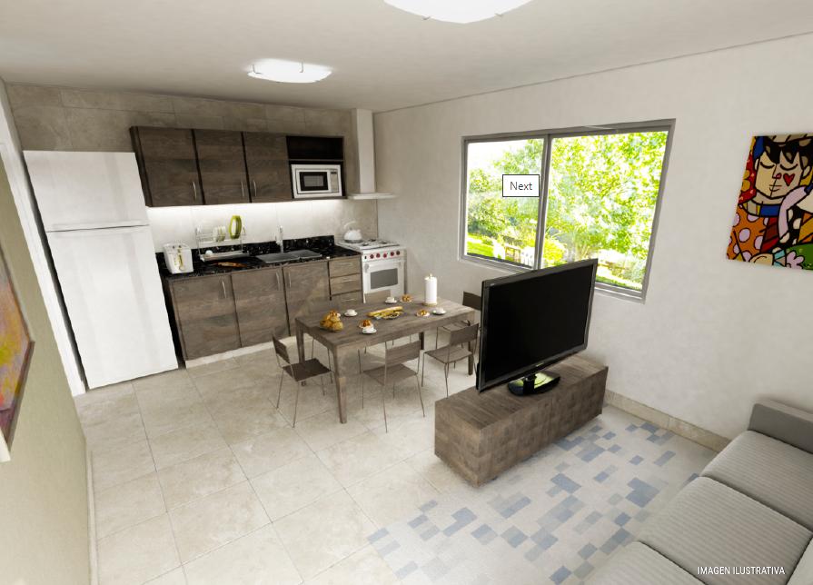 milenium premium 2 dormitorios interior