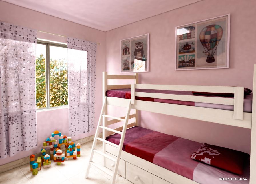 milenium premium 2 dormitorios con galeria habitacion