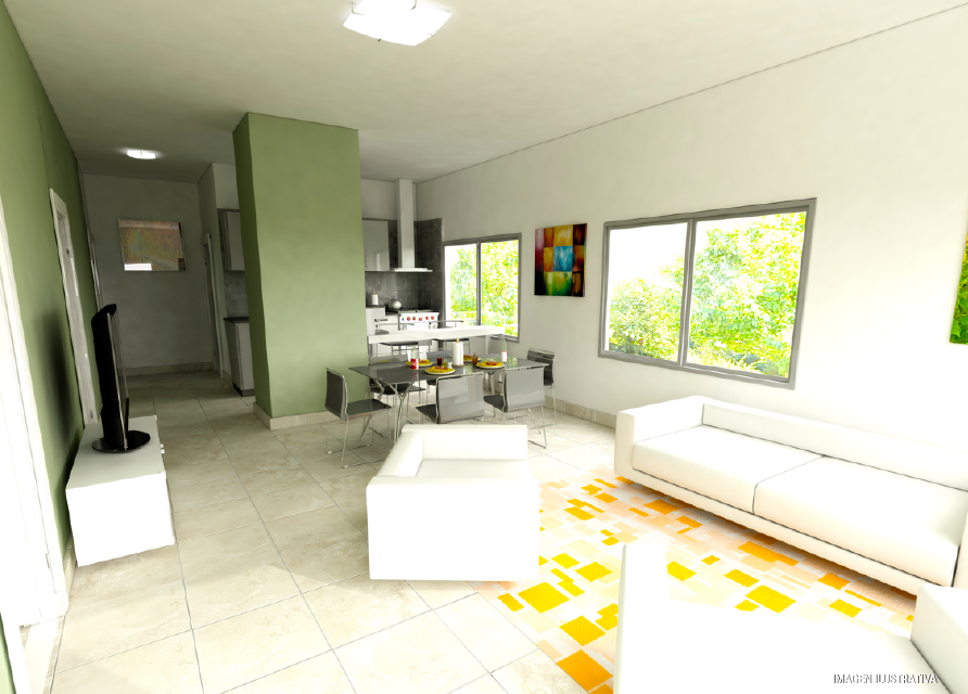 milenium premium 3 dormitorios interior
