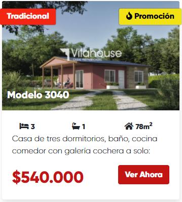 vilahouse 3040 promocion