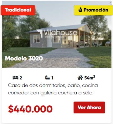 vilahouse 3020 promocion