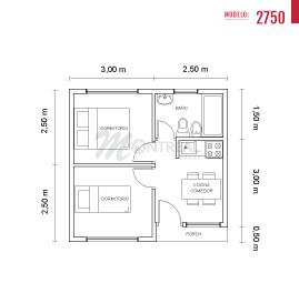casa 27.50 plano