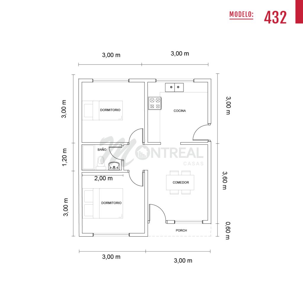 casa 432 plano