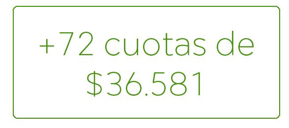 cantidad de cuotas modelo 3025 prefabricada plan de pago