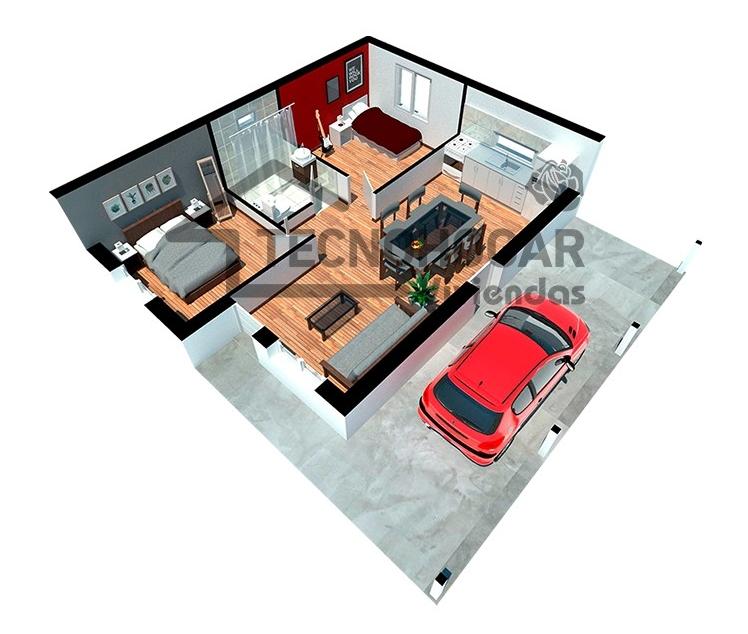 tecnohouse 4140 plano