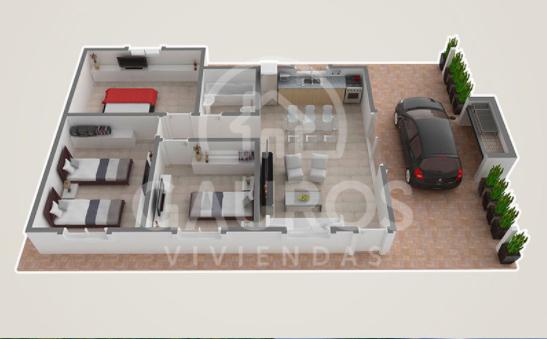 modelo 3d plano premium